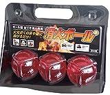 消火ボール3個入 (ボール型 投てき消火用具)