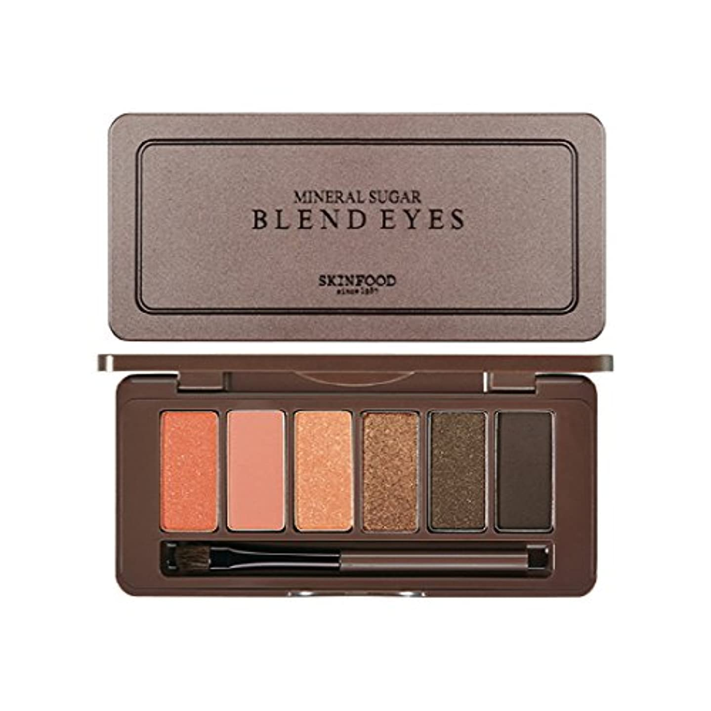 詳細な閉じ込める郵便屋さんSKINFOOD Mineral Sugar Blend Eyes/スキンフード ミネラル シュガー ブレンド アイズ (#04 Goldmango Roll) [並行輸入品]