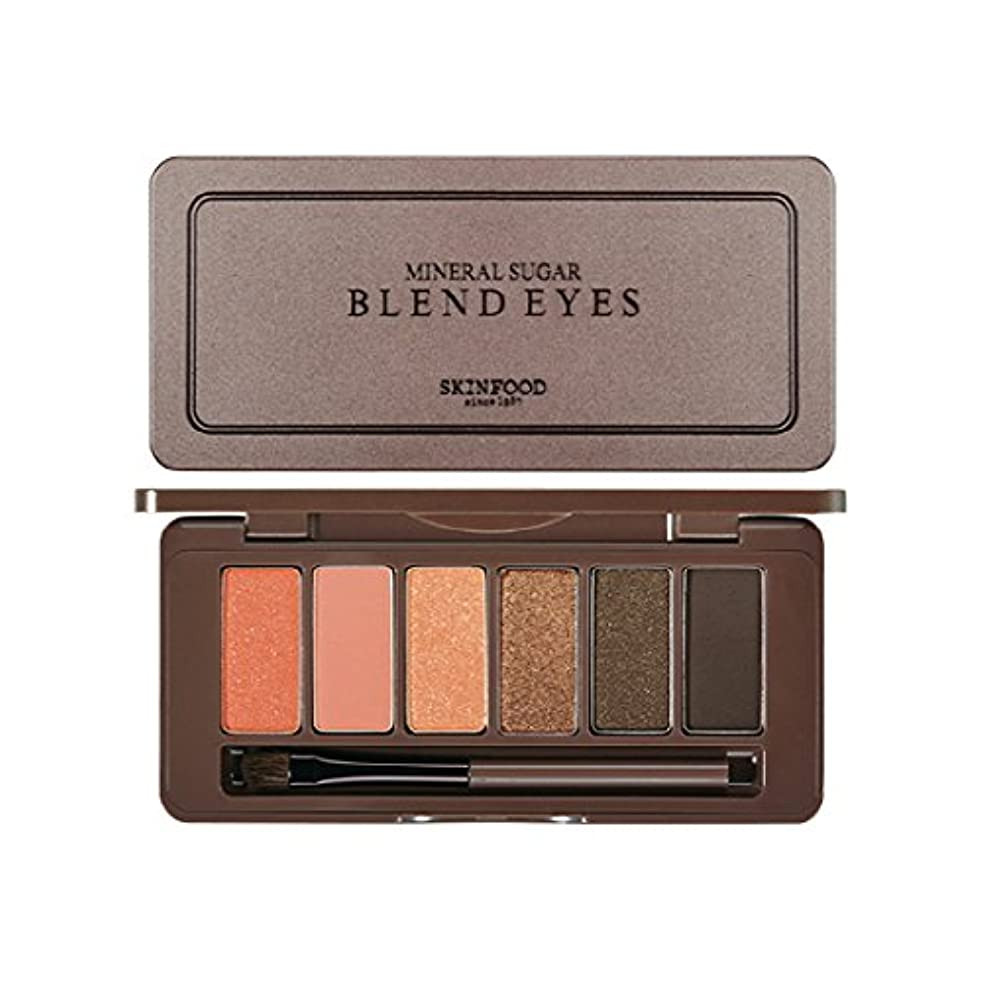 汚いひも忠実なSKINFOOD Mineral Sugar Blend Eyes/スキンフード ミネラル シュガー ブレンド アイズ (#04 Goldmango Roll) [並行輸入品]