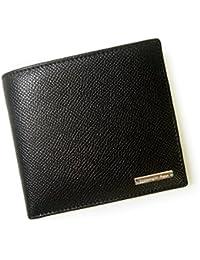 [ゼニア]ZEGNA 財布 メンズ 二つ折り グレインレザー (ブラック) E0007A ALP NER ZE-53 [並行輸入品]