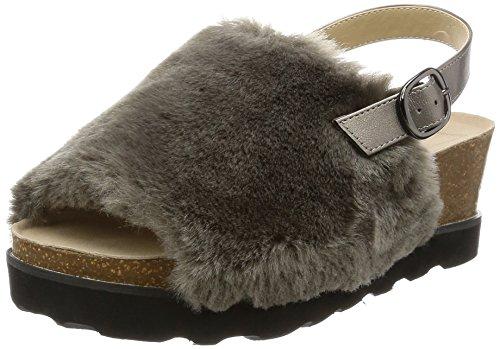 [해외][인챈 티드] enchanted 퍼 백 벨트 샌들/[Enchanted] enchanted fur back belt sandals
