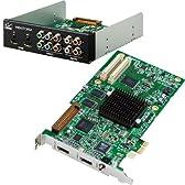トムソン・カノープス HDSTORM PLUS Board-kit SD/HD入出力端子搭載ビデオ編集ボード Windows XP / Vista(32/64bit)対応 HDSTORMPLUS-BOARD