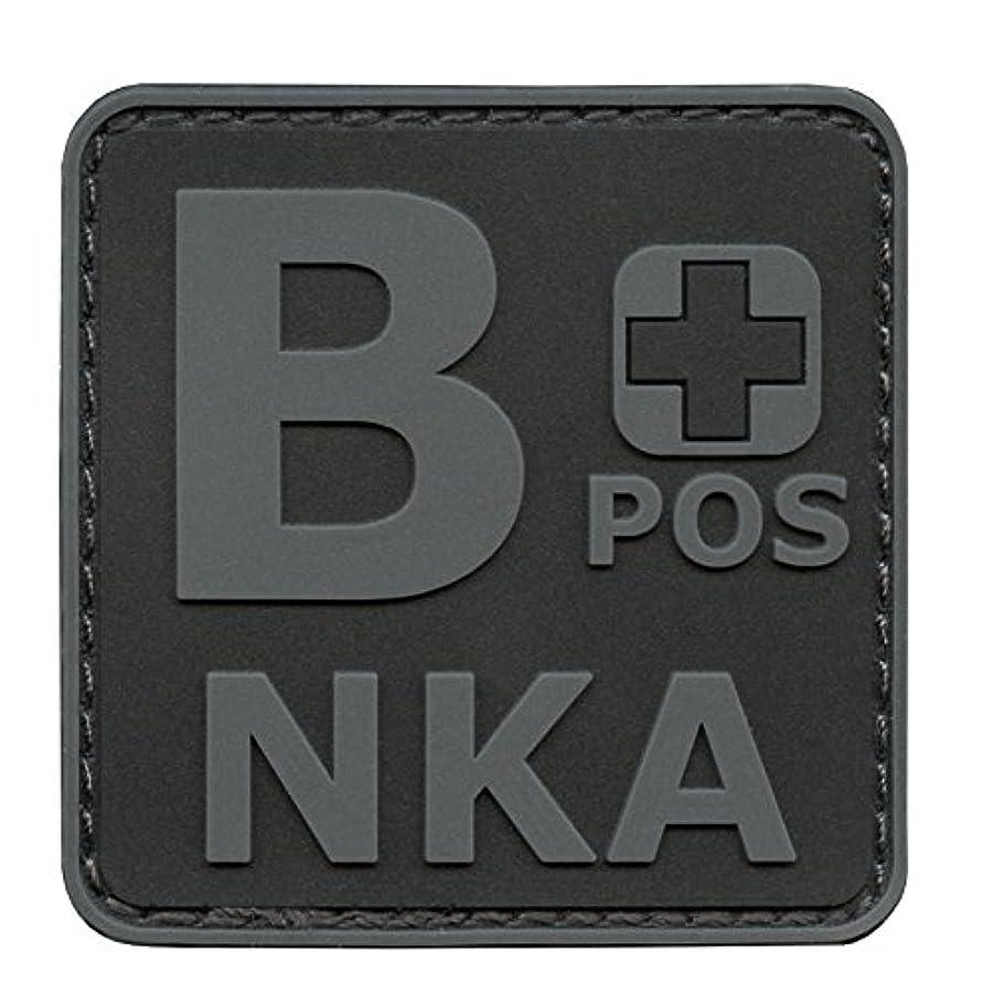 クラス額ほとんどの場合Blackout ACU BPOS B+ NKA ブラッドタイプ No Known Allergies Subdued モラール PVC ラバー ベルクロ面ファスナー パッチ Patch