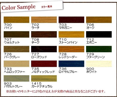 日本オスモ オスモカラー ウッドステインプロテクター #703マホガニー 0.75L [半透明着色ツヤ消し]