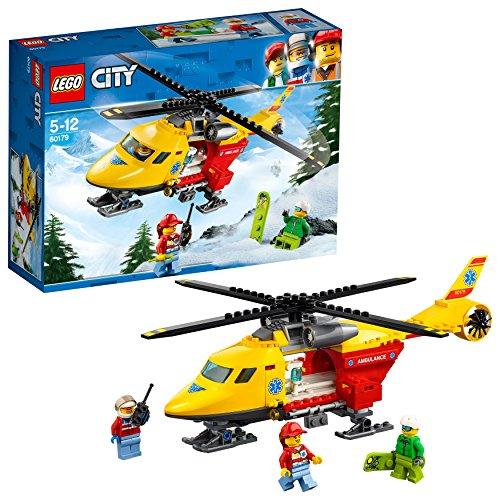 レゴ(LEGO) シティ 救急ヘリコプター 60179