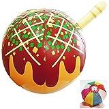 【ビニール玩具】 メガ?たこやき (1個入)  / お楽しみグッズ(紙風船)付きセット [おもちゃ&ホビー]