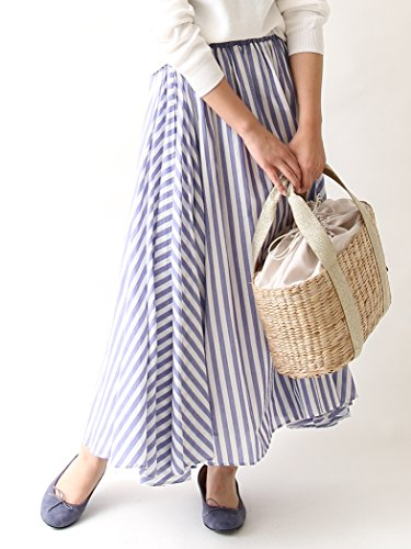 [해외](코헨) COEN Market 지난해 큰 인기 · 새로운 색상 추가 스트라이프 맥시 스커트 76706107002/(Cohen) COEN Market Popular and new color popular last year Stripe Maxi skirt 76706107002