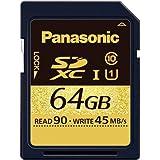Panasonic 64GB SDXCメモリーカード CLASS10 RP-SDUB64GJK