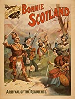 Sidney R。Ellis ' Bonnie Scotlandスコットランド再生ポスター# 3 16 x 24 Giclee Print LANT-4286-16x24