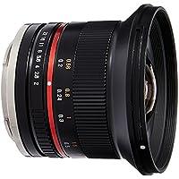 Samyang SY12M-E-BK 12mm F2.0 Ultra Wide Angle Lens for Sony E Cameras, Black [並行輸入品]