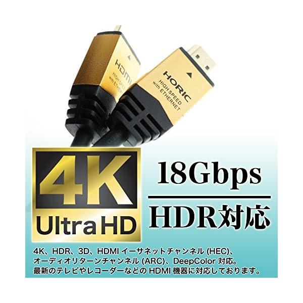 HORIC ハイスピードHDMIケーブル 1....の紹介画像5
