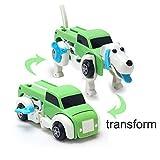 一つで車から犬へ変形 男の子 車変形