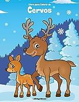 Livro para Colorir de Cervos