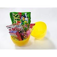 駄菓子入りイースターエッグカップ大(無地) たまご/プラスチック製/お得