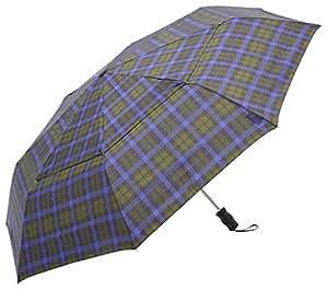 トーツ (totes)自動開閉 折り畳み傘 Vented Canopy 三つ折り69cm B66(グリーンチェック)