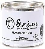 ノルコーポレーション g.r.i.m 芳香剤 フレグランスジェル 100g ホワイトムスク OA-GRM-2-1