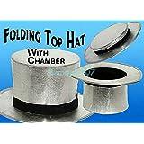 折りたたみトップハットシルバー Folding Top Hat Silver -- マジックアクセサリー