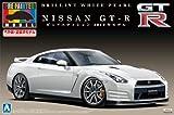 青島文化教材社 1/24 プリペイントモデルシリーズNo.30 NISSAN GT-R R35 ピュアエディション 2012年モデル ブリリアント ホワイト パール