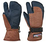 HESTRA(ヘストラ) 3-FINGER GTX FULL LEATHER 3388 Brown/Navy(750280) 7