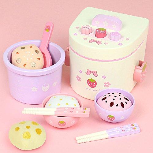マザーガーデン Mother garden おままごと 炊飯器 セット 〔木製 おもちゃ 和食 炊き...