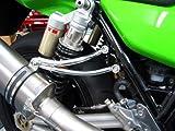 LBP製 Kawasaki ZRX1100 / ZRX1200 / ZRX1200 DAEG アルミ マフラーステー バフ仕上げ