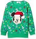 ディズニー ミッキークリスマストレーナー 332109047 ボーイズ グリーン 日本 100 (日本サイズ100 相当)