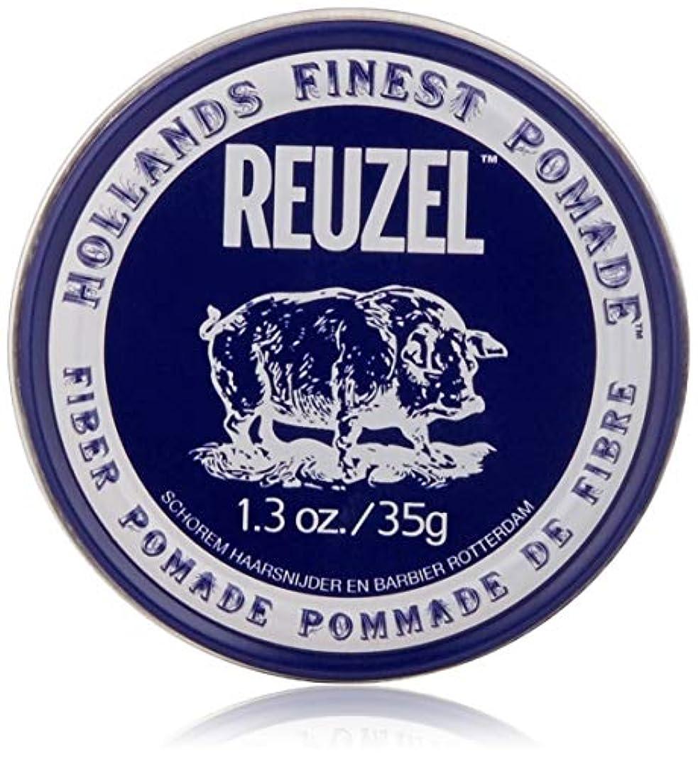流産フィドル共和国REUZEL INC Reuzelナチュラルフィニッシュ繊維ポマード、1.3オンス 1.3オンス 濃紺