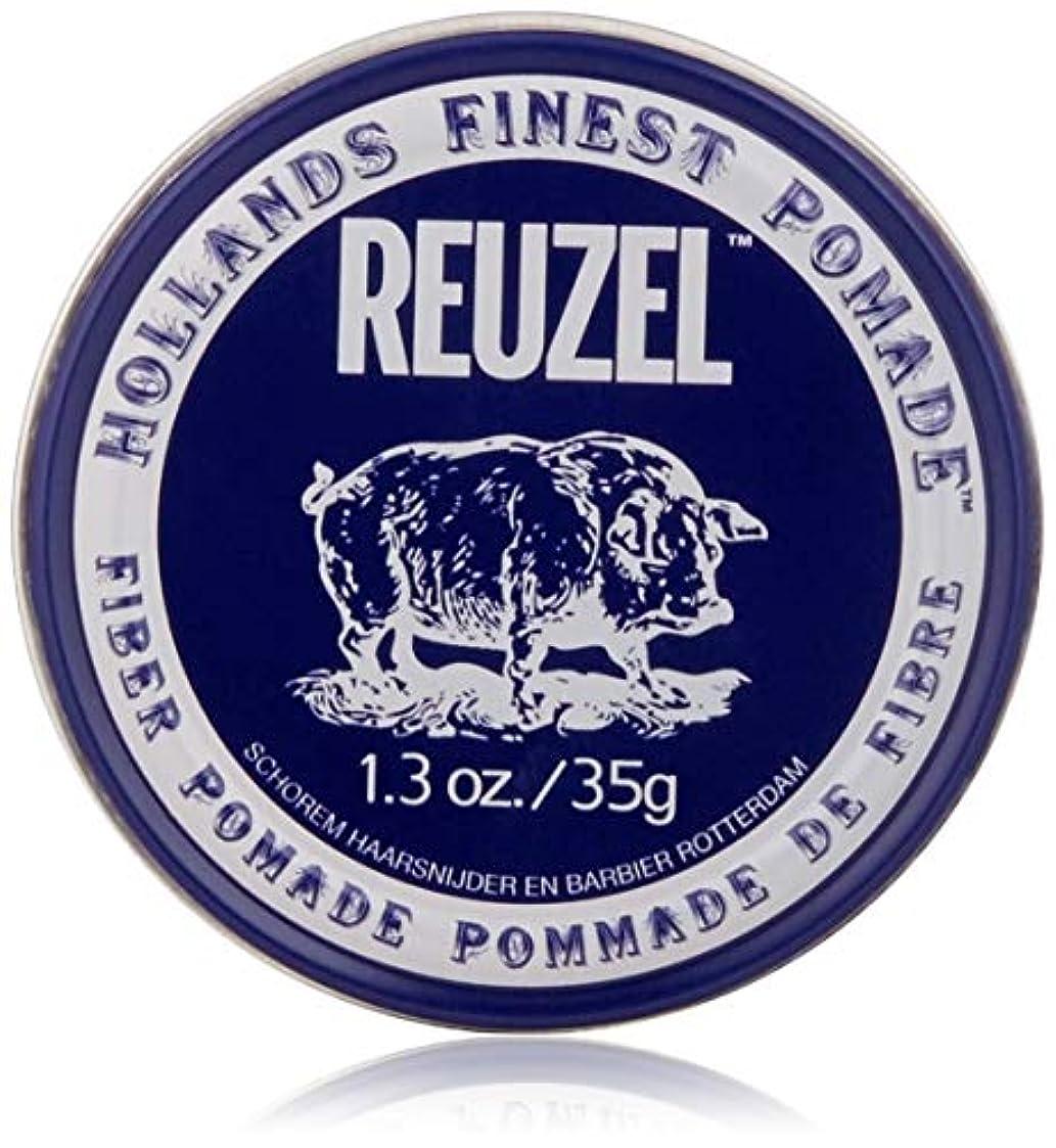 コマース少数角度REUZEL INC Reuzelナチュラルフィニッシュ繊維ポマード、1.3オンス 1.3オンス 濃紺