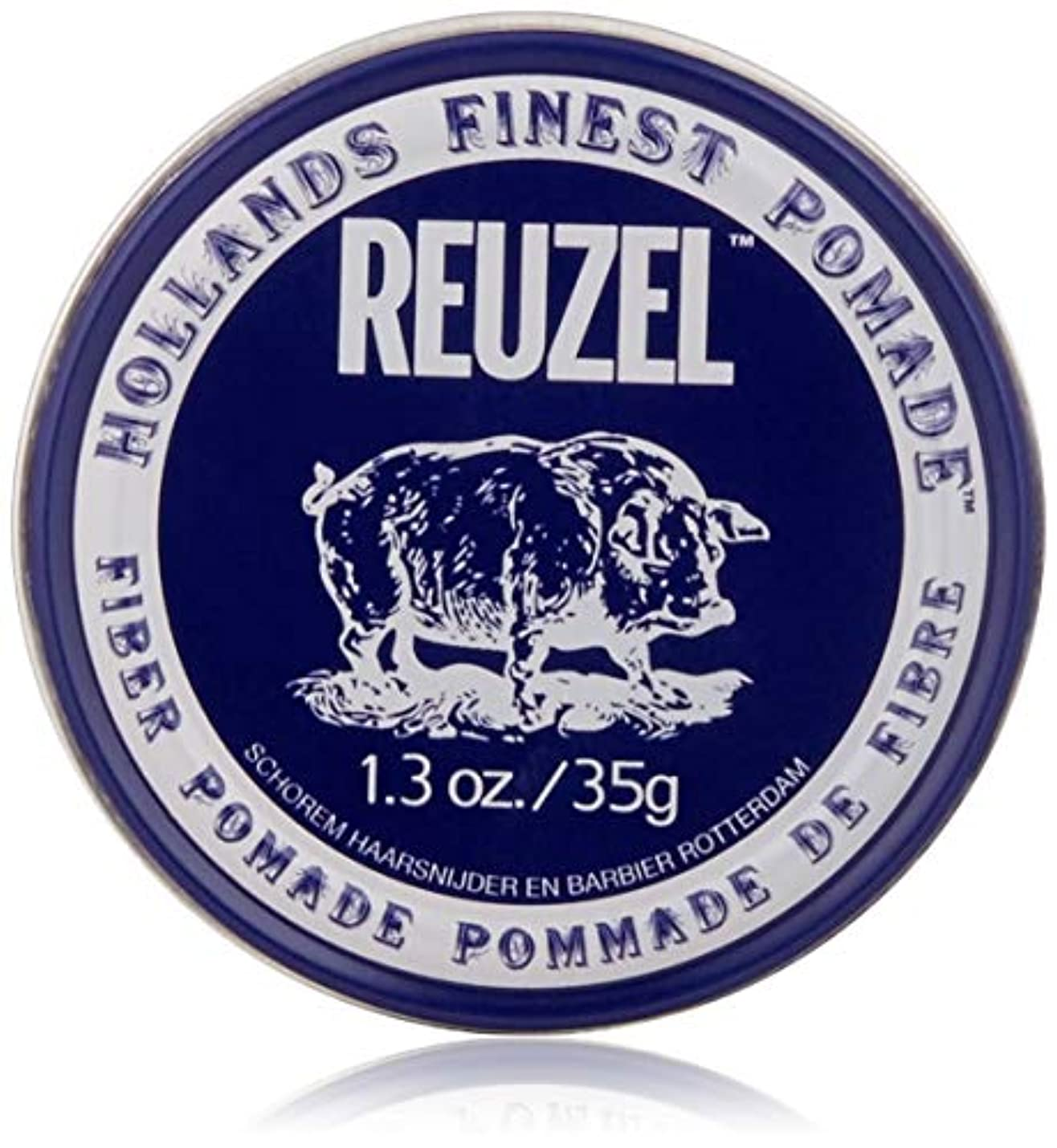 ギター全国親密なREUZEL INC Reuzelナチュラルフィニッシュ繊維ポマード、1.3オンス 1.3オンス 濃紺