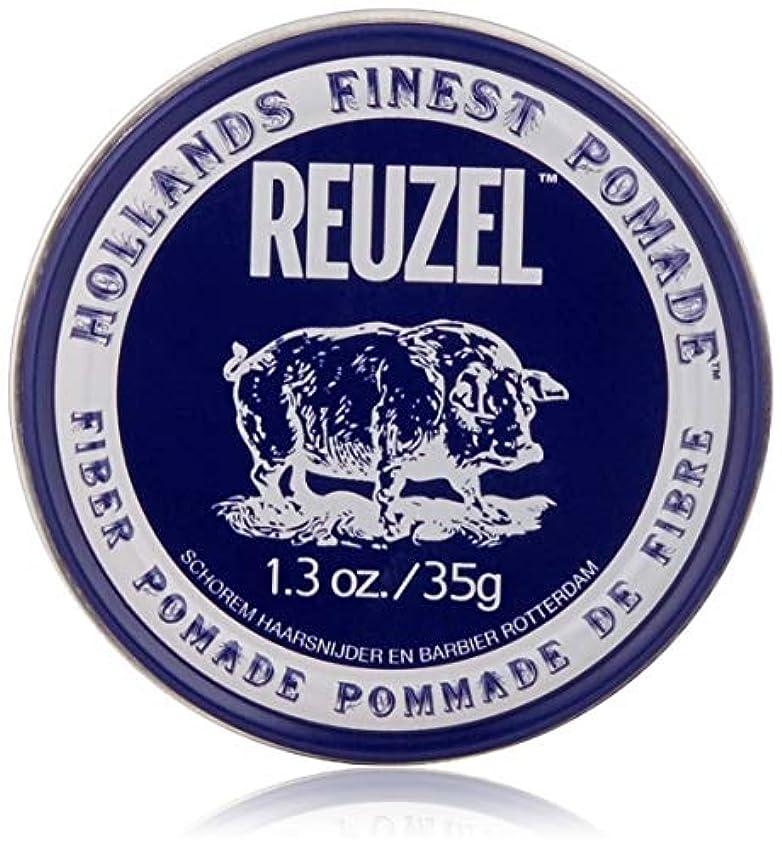 交渉するキリスト教バラバラにするREUZEL INC Reuzelナチュラルフィニッシュ繊維ポマード、1.3オンス 1.3オンス 濃紺