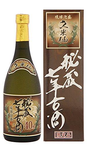 久米仙酒造 久米仙秘蔵七年古酒 40度 720ml
