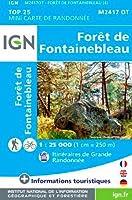 Foret de Fontainebleau Mini 2018 (Ign)