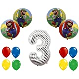 Super Mario Bros 3rdバルーンデコレーションキットbyパーティーSupplies