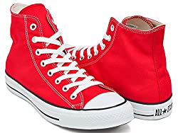 (コンバース) CONVERSE CONVERSE CANVAS ALL STAR HI [キャンバス オールスター ハイ] RED (M9621) 32060182