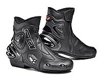 Sidi Apex Motorcycle Bootsブラック( Moreサイズオプション) US7.5/EU41 ブラック MOT-SIS-APX-BKBK-41