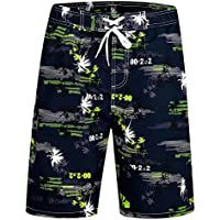 ICEbear Mens Swim Trunks Quick Dry Water Beach Board Shorts Cool Sportwear