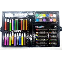 68 Piece Art Set, Canvas Pencil Bag for Kids Colouring, Ideal for Christmas Gifts