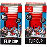 (16 Cups) - Wicked Big Sports Wicked Big Flip Cup 16 Giant Cups Party Pack-Outdoor/Indoor Sport, Tailgate, Backyard, Beach Game Indoor/Outdoor Games