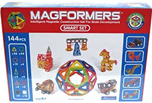 マグフォーマー MAGFORMERS 144ピーススマートセット マグネット スマートセット [Baby Product]