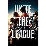 映画公開記念 JUSTICE LEAGUE ジャスティスリーグ - Unite The League / ポスター 【公式 / オフィシャル】
