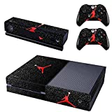 ジョーダン Air Jordan-Generic Full Body Screen Protector VinylSkin Decal For Xbox one Console and 2PCS Xbox one Controller Skins Stickers by Bestlovelin [並行輸入品]
