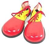 ピエロ 靴 シューズ コスチューム用小物 レッドxイエロー 男女共用 長さ約35cm