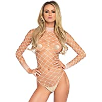Leg Avenue Fence Fishnet Bodysuit and Panty