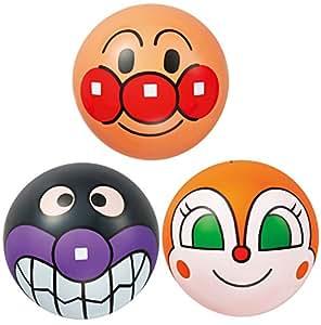 アンパンマン 顔ボール3号 (3個入り)