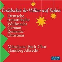 German Romantic Christmas by Munchener Bach-Chor (2009-10-27)