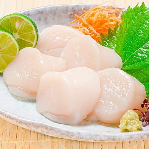 築地の王様 ホタテお刺身用 ホタテ貝柱 1kg 約36-40粒 北海道産 品質に自身あり
