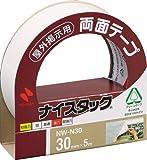 ニチバン ナイスタック NW-N30(屋外用) NW-N30 00014618 【まとめ買い5個セット】