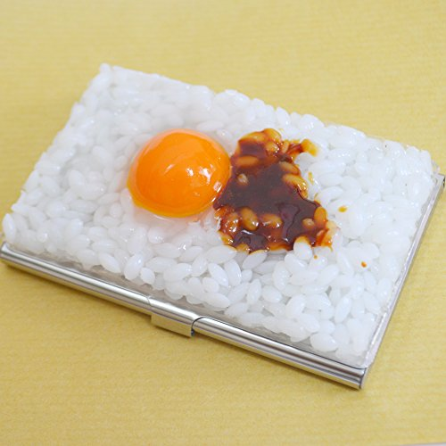 カードケース 卵かけご飯 食品サンプル 名刺入れ