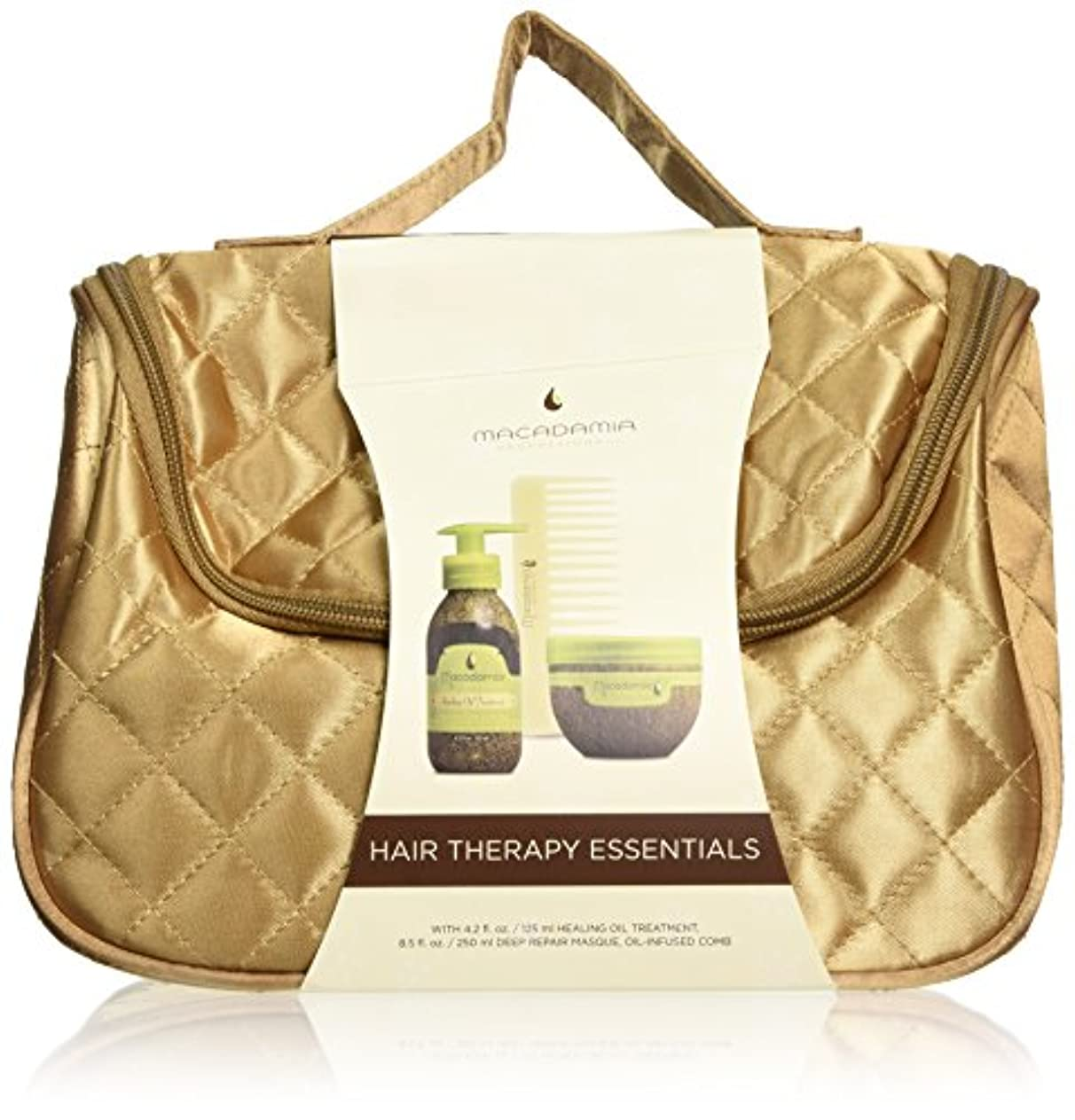 ウィザード海港パテMACADAMIA Hair Therapy Essentials - Holiday Travel Bag (並行輸入品)