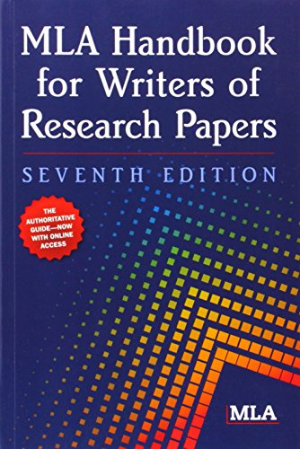 MLA Handbook for Writers of Research Papers (Mla Handbook for Writers of Research Ppapers)の詳細を見る